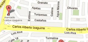 Mapa - Croquis - Oficina Operativa Aranea.pe SAC